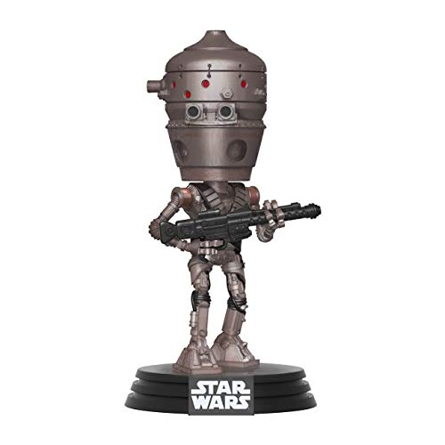 Funko Pop Bobble Vinyle Mandalorian-IG-11 Star Wars The Mandalorian IG-11 Figura Coleccionable,...