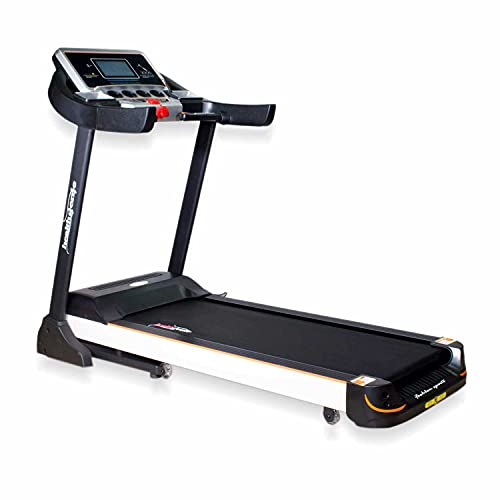 Healthgenie 4612C Commercial Motorized Treadmill For Home, 2.0 Hp Ac Motor With Auto Lubrication &...