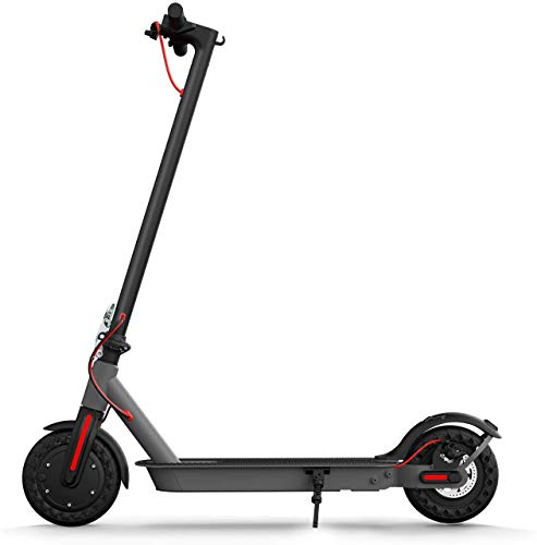Hiboy S2 Electric Scooter - 8.5' Solid Tires - Up to 17 Miles Long-Range & 18 MPH Portable Folding...