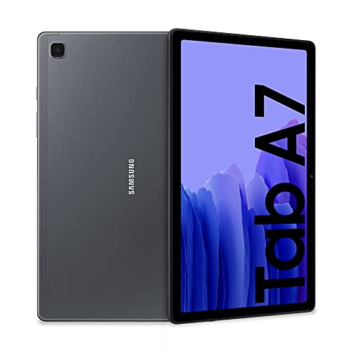 Samsung Galaxy Tab A7 Tablet, Display 10.4' TFT, 32GB Espandibili fino a 1TB, RAM 3GB, Batteria 7.040 mAh, WiFi, Android 11, Fotocamera posteriore 8 MP, Dark Gray [Versione Italiana]
