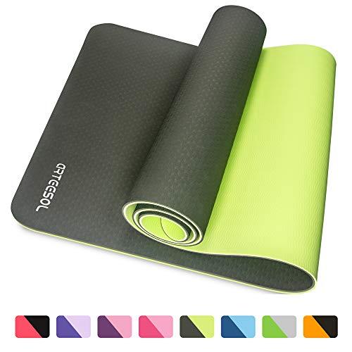 arteesol, Tappetino per Yoga, Fitness, Tappetino per Esercizi di Fitness. per Yoga, Pilates e...