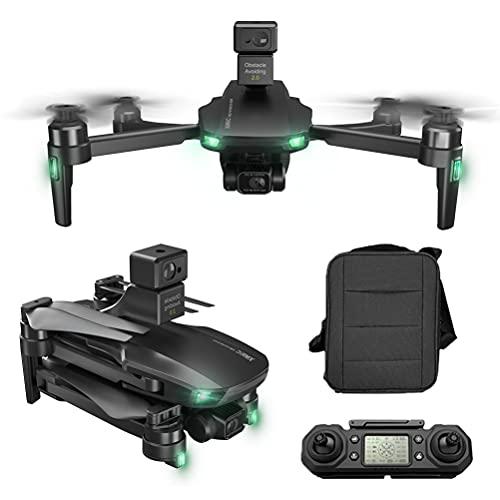 5G WiFi FPV Drone Evitamento degli Ostacoli a 360 , Drone con Telecamera 6K per Adulti, Quadricottero RC con stabilizzazione dell'immagine EIS, Tempo di Volo 50 Minuti Borsa portaoggetti