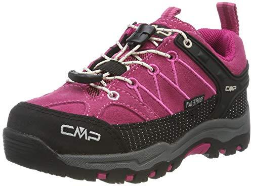 CMP Unisex-Kinder Rigel Low Trekking- & Wanderhalbschuhe, Pink (Geranio-Off...