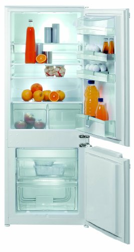 Gorenje RKI4151AW Einbau-Kühl-Gefrier-Kombination / A+ / 244 kWh/Jahr / Kühlteil: 164 L / Gefrierteil: 50 L / weiß / Quick Freeze  / 2 herausziehbare Gefriergut Schubladen, davon 1 zum Vorgefrieren