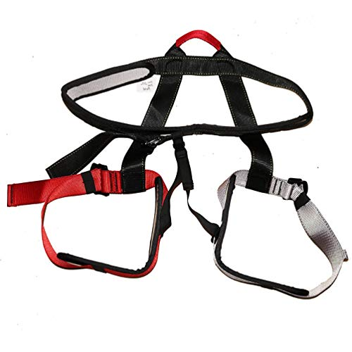 Generic Bungee Dance Harness Workout Fitness Aerial Anti-Gravity Yoga Harness Resistance Band Home Gym Equipment Color Harness 61-120KG