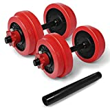 Yes4All Adjustable Dumbbells - 60 lb Dumbbell Weights with Protective Silicone Sleeves and Dumbbell Connector