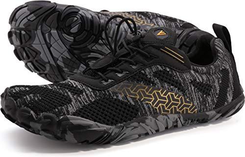 WHITIN Homme Minimaliste Barefoot Shoes zéro Drop Chaussure Basket Five...