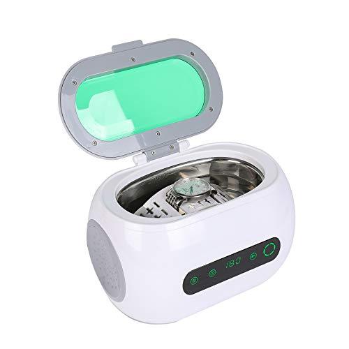 UROK 600ml Pulitore Ad Ultrasuoni Display Digitale 35W Lavatrice Ad Ultrasuoni Portatile Ultrasuoni...