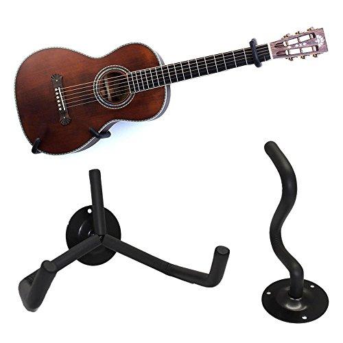 Guitar Bass Wall Hangers Stands,Guitar Hook Holder Wall Mount