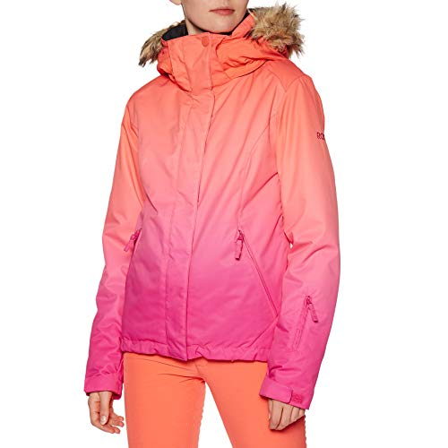 Roxy Jet Ski Se, Giacca da Snowboard Donna, Beetroot Pink Prado Gradient, S