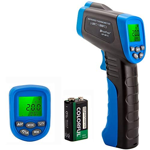 HOLDPEAK 981C Non-Contact Digital Laser Infrared Thermometer Temperature Gun