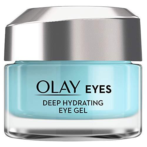 Olay Eyes Deep Hydrating Gel contorno de ojos, con ácido hialurónico para contorno de...