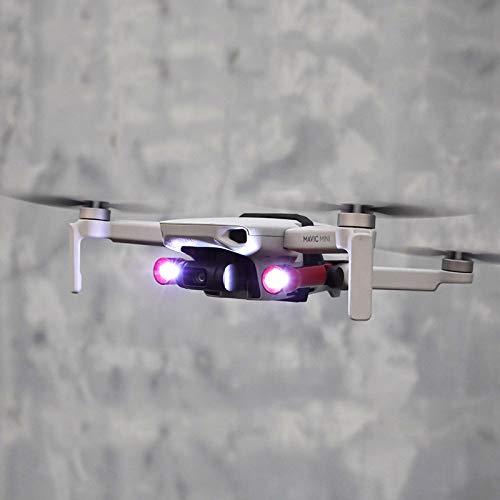 Linghuang Droni LED Lampada Frontale Luce Flash con Staffa per DJI Mavic Mini Drone Accessori