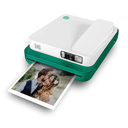 KODAK Smile Classic Digital Instant Camera for 3.5 x 4.25 Zink Photo Paper - Bluetooth, 16MP Pictures (Green)