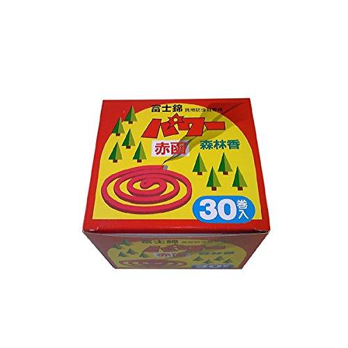 富士錦 パワー森林香(赤色) 30巻入り