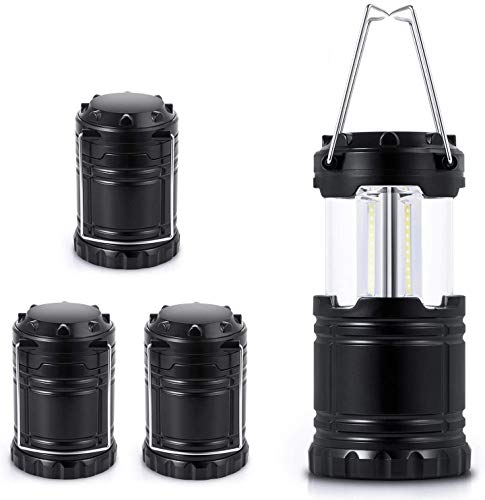 LED Camping Lantern, Super Bright Portable Lanterns, Must Have During Hurricanes, Emergencies, Storms, Outages, Original Patented Collapsible Camping Lights/Lamp