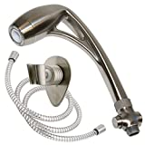 Oxygenics 26481 Brushed Nickel Body Spa RV Shower Kit