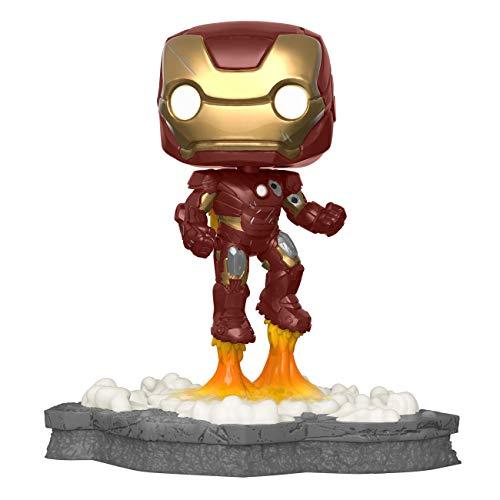 Funko 45610 Pop! Deluxe, Marvel: Avengers Assemble Series – Iron Man, Amazon Exclusive, Figura 1...