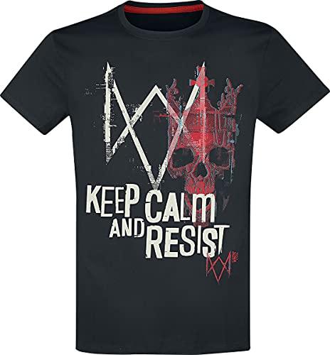 Watch Dogs Legion - Keep Calm and Resist Männer T-Shirt schwarz S