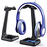 PC Gaming Headphone Stand Headset Hanger with Cable Holder for Sennheiser, Sony, Audio-Technica,...