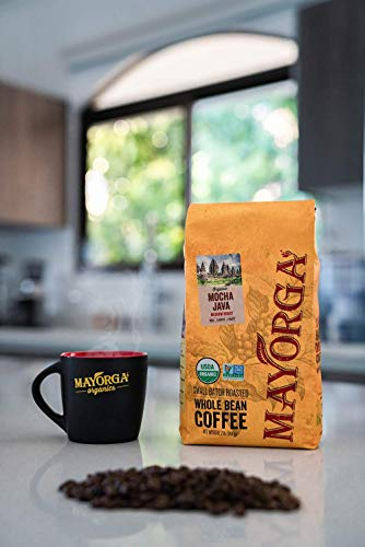 Mayorga Organics Mocha Java, 2lb Bag, Medium Roast Whole Bean Coffee, Specialty-Grade, 100% USDA Organic, Non-GMO Verified, Direct Trade, Kosher 5