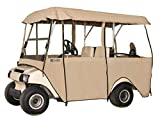 Classic Accessories Fairway Deluxe 4-Sided 4-Person Golf Cart...