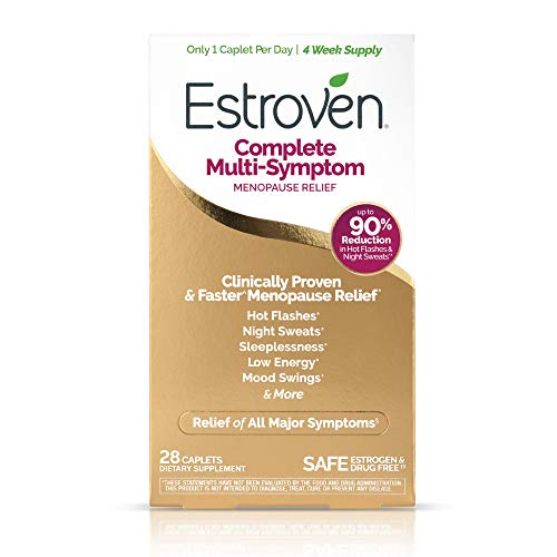 Estroven Complete Menopause Relief | All-In-One Menopause Relief* | Safe and Effective | Reduce Multiple Menopause Symptoms*1 | Reduces Hot Flashes and Night Sweats* | One Per Day | 28 Count 7