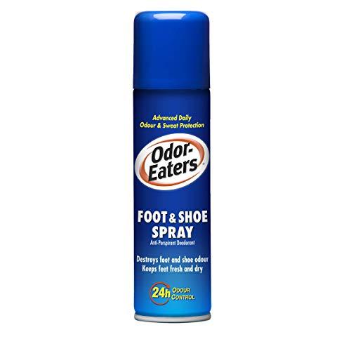 Odor-Eaters Foot & Shoe Spray Anti-Perspirant Deodorant, 150ml