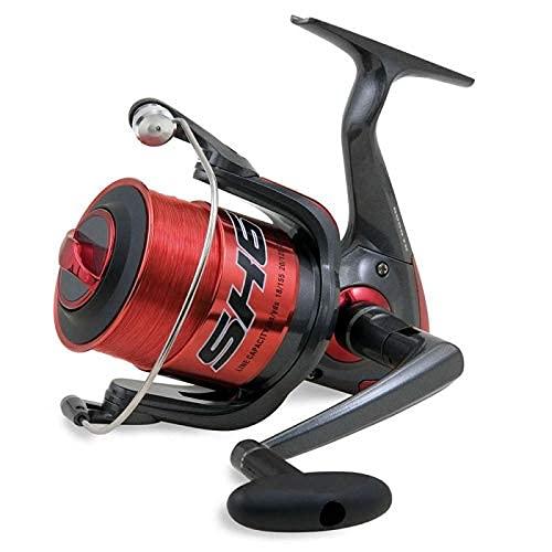 SHIZUKA Mulinello da Pesca Imbobinato SK6 6000 6000 con Frizione Anteriore Precisa e Potente da Spinning Bolognese Feeder Fondo Mare Trota Lago Leggero e Affidabile
