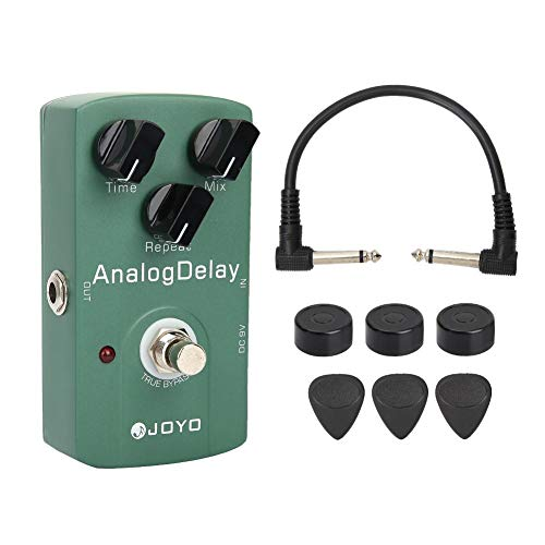 Professional JF-33 Analog Delay Electric Guitar Effect Pedal with True Bypass & Heavy Duty Switch