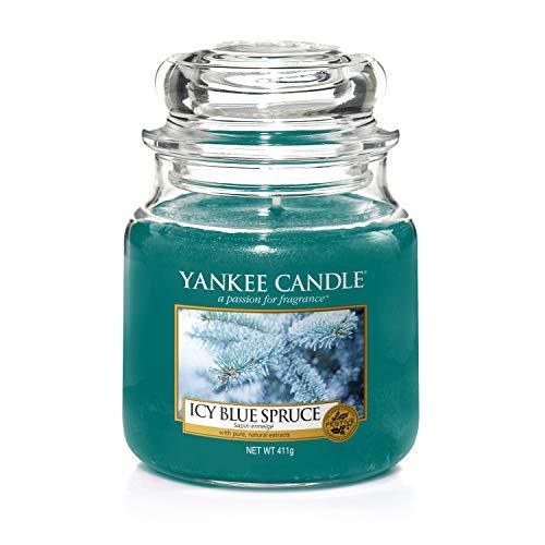Icy Blue Spruce di Yankee Candle, Giara Grande