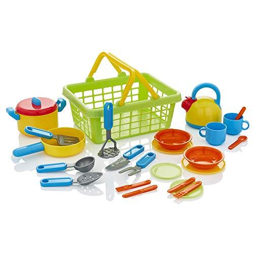 KiddyPlay Cook & Serve Il Cestino della Cucina