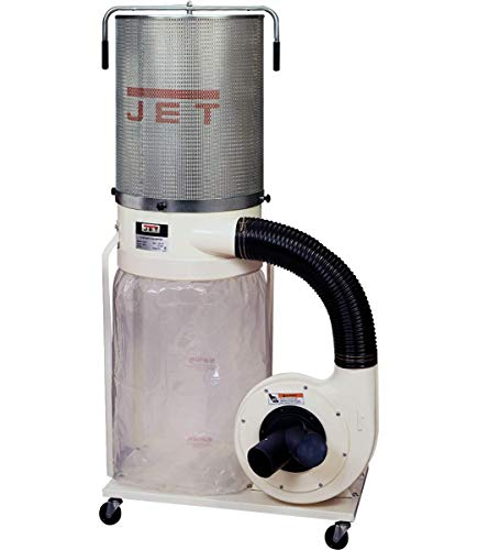 Jet DC-1100VX-CK 1.5-HP Dust Collector, 2-Micron Canister Kit...