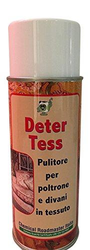 Chemical Roadmaster Italia Deter Tess: pulitore per poltrone e divani in Tessuto. Schiuma Attiva...