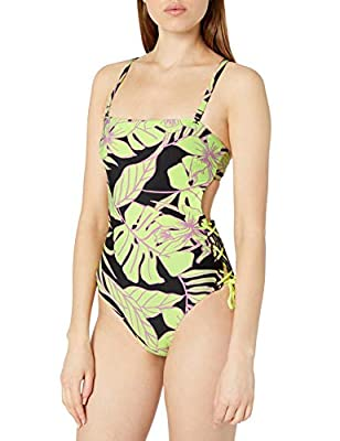 """Reversible Moderate coverage Seamless, stretch fit and fabric Made In Colombia, With Love Search Maaji """"Ocean Depths"""" to see entire collection in this print"""