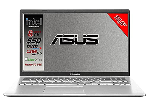 ASUS - VivoBook portátil, pantalla de 15,6 pulgadasHD, LED, procesador...