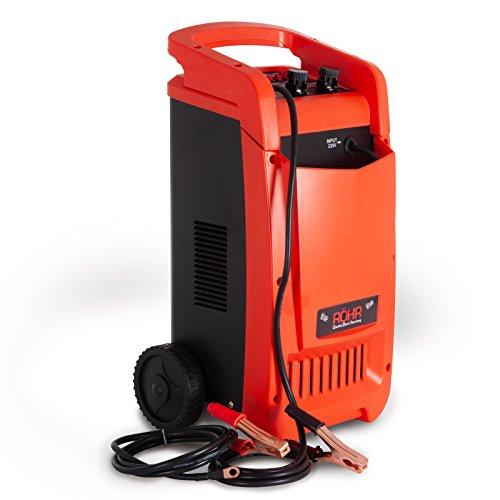 Röhr DFC-450P Chargeur de Batterie Intelligent - Recharge Rapide/d'entretien/régénérateur/démarreur - 12/24 V - 100A