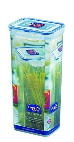 Spaghettidose Frischhaltedose Vorratsdose 2,0 Liter, absolut luftdicht und robust