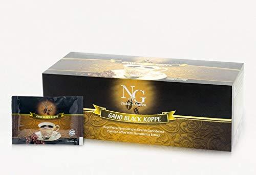 Noble Garden Gano Kaffee mit Reishi Extrakt - Black Koppe das Original by GANO EXCEL 30 St/Pack GoGano