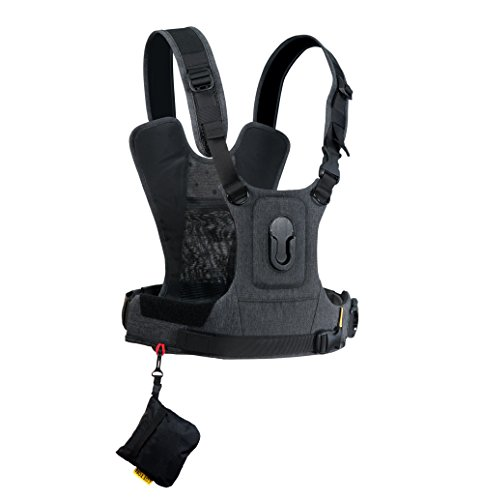 Cotton Carrier CCS G3 Camera Harness System for One Camera – Grey