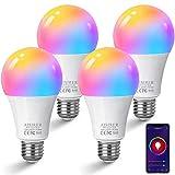 Ampoule Connectee AISIRER Ampoule WIFI LED E27 Intelligente 10W 1000LM...