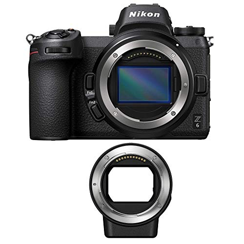 Nikon Z6 Mirrorless Digital Camera with Nikon FTZ Mount Adapter Bundle