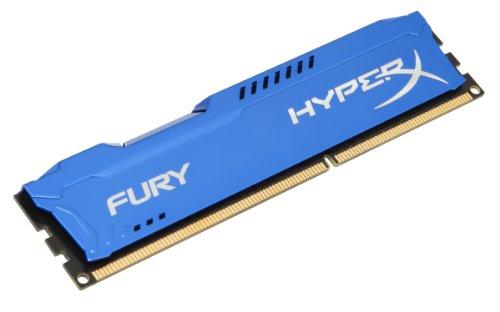 HyperX Fury 8GB DDR3 1866MHz CL10 DIMM Desktop Memory (HX318C10F/8)