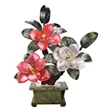 Plantas Artificiales Artificial Bonsai Tree Peony Bonsai Planta artificial Decoracin de la planta de interior Plantas Jade Bonsai Chinese Porch Decoration Decoracin para el hogar Regalo Bonsi Artif