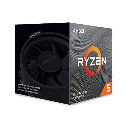 AMD Ryzen 5 3600X - Procesador con ventilador Wraith Spire, Temp. máx.: 95°C