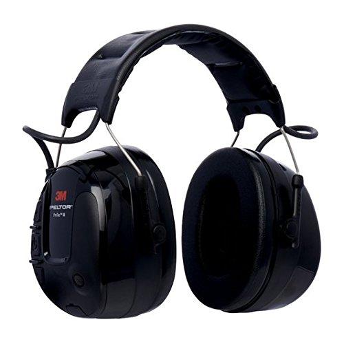 3M PELTOR ProTacIII Cuffia Protettiva, nero, 32 dB, con bardatura temporale, MT13H221A
