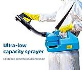 Electric ULV Sprayer Portable Fogger Machine Disinfection Machine for Hospitals Home Ultra Capacity Spray Machine,7L