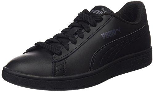 Puma - Smash V2 L, Zapatillas Unisex adulto, Negro (Puma Black-Puma Black 06), 41 EU