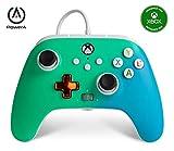 PowerA Controller giochi cablato avanzato per Xbox, gamepad, Xbox Series X|S, Verde