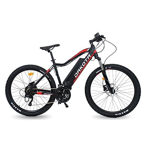 URBANBIKER Vélo électrique VTT Dakota, Batterie Lithium Samsung 48 V 17.5 Ah (840 Wh) Moteur 350W. Freins hydrauliques (27.5')